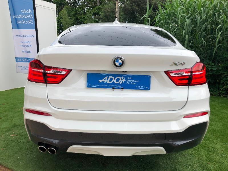 Photo 5 de l'offre de BMW X4 xDrive30dA 258ch M Sport à 31490€ chez ADO - Auto Distribution Occitane - Toulouse