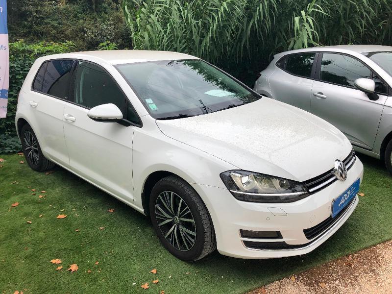 Volkswagen Golf 2.0 TDI 150ch BlueMotion Technology FAP Match Allstar DSG6 5p Diesel BLANC Occasion à vendre