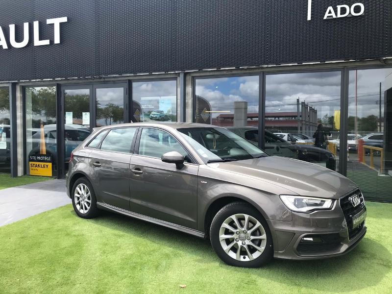 Audi A3 Sportback 2.0 TDI 150ch FAP Ambition S tronic 6 Diesel marron Occasion à vendre