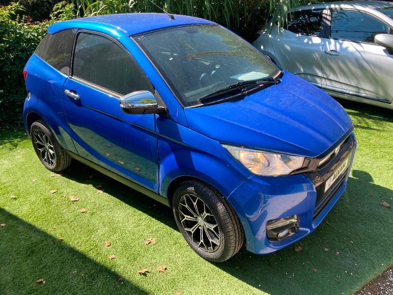 Aixam Coupe Premium Diesel Bleu Clair Métal Occasion à vendre