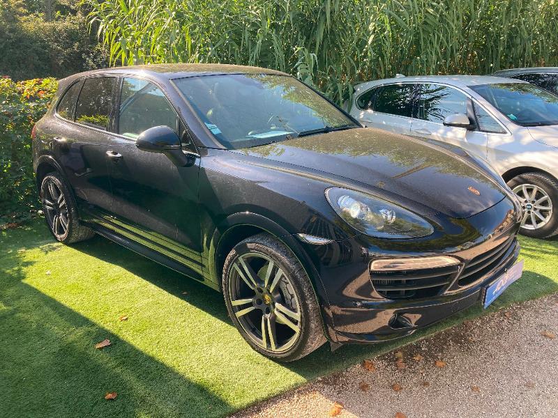 Porsche Cayenne S Diesel Diesel Noir Occasion à vendre
