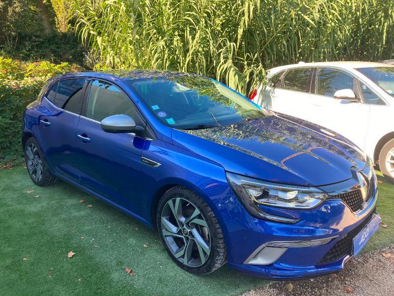 Renault Megane 1.6 TCe 205ch energy GT EDC Essence BLEU Occasion à vendre