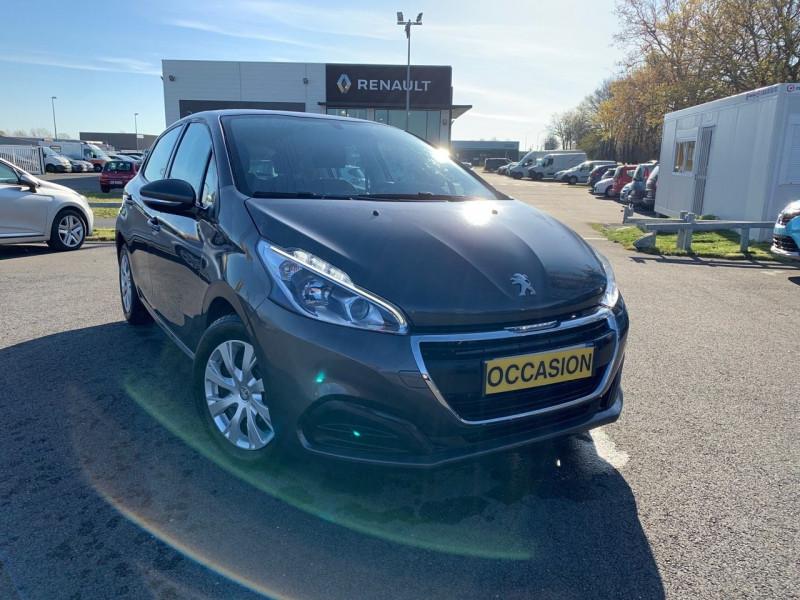 Peugeot 208 1.5 BLUEHDI 100CH E6.C ACTIVE BVM5 86G 5P Diesel GRIS PLATINIUM Occasion à vendre