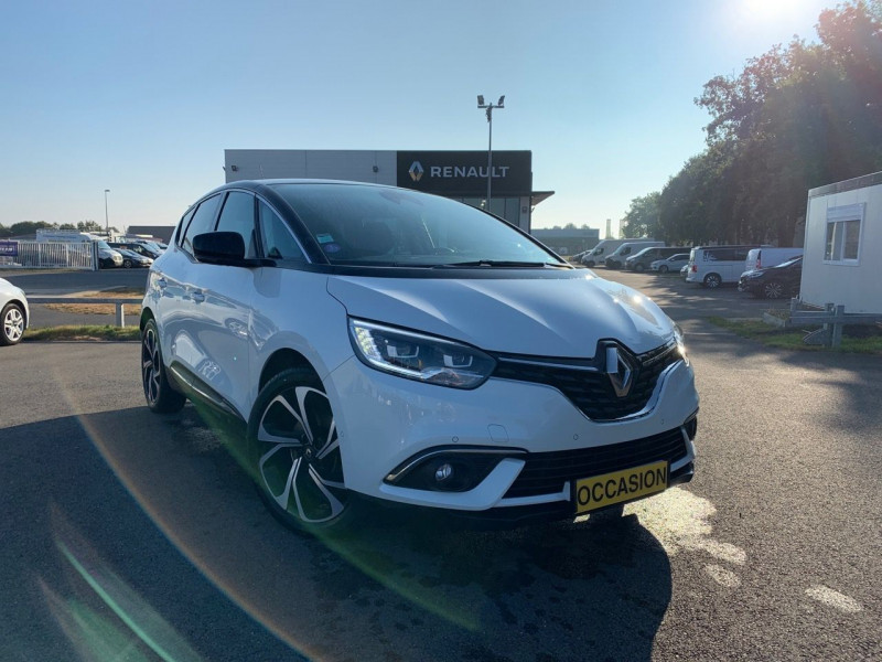 Renault SCENIC IV 1.3 TCE 160CH ENERGY INTENS EDC Essence BLANC Occasion à vendre