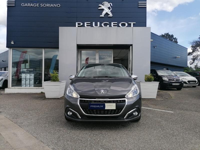 Peugeot 208 1.5 BlueHDi 100ch E6.c Signature BVM5 86g 5p Diesel Gris Foncé Métal Occasion à vendre