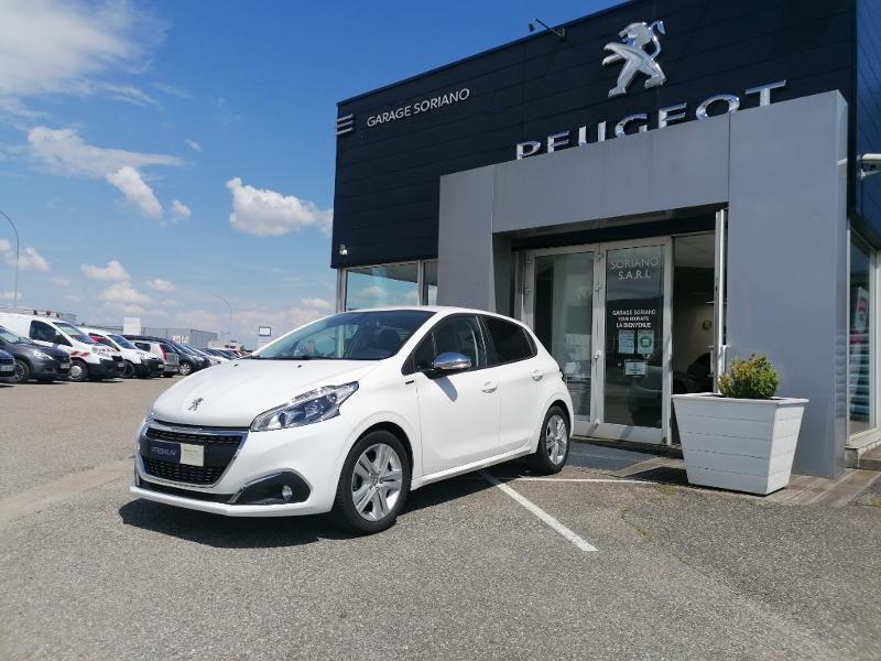 Peugeot 208 1.2 PureTech 82ch E6.2 Evap Signature 5p Essence Blanc Occasion à vendre