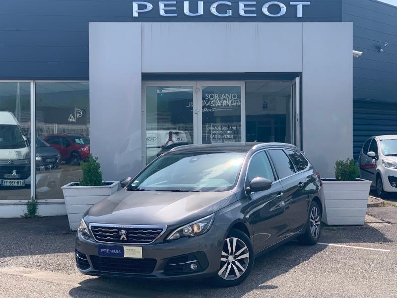 Peugeot 308 SW 130 Allure gps camera toit pano garantie 1 an Diesel Gris Foncé Métal Occasion à vendre