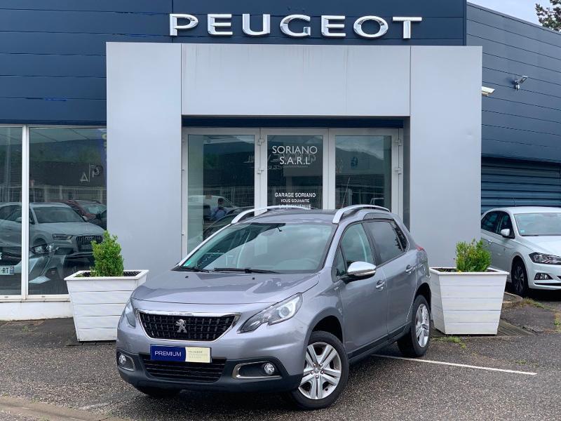 Peugeot 2008 Style 82 clim bluetooth radar ar garantie 12 mois Essence Gris Clair Métal Occasion à vendre