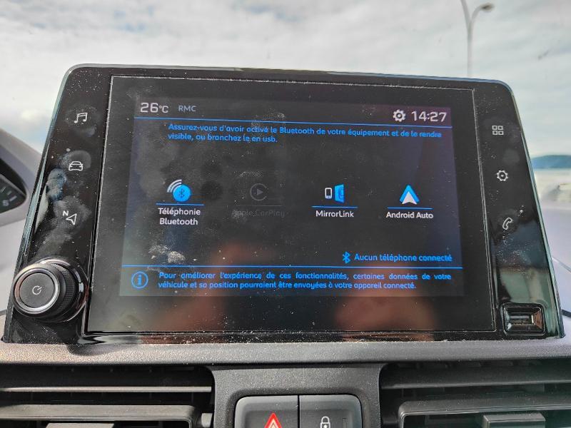 Photo 11 de l'offre de PEUGEOT Rifter BlueHDi 130ch S&S Standard Allure EAT8 à 23990€ chez Groupe Soriano