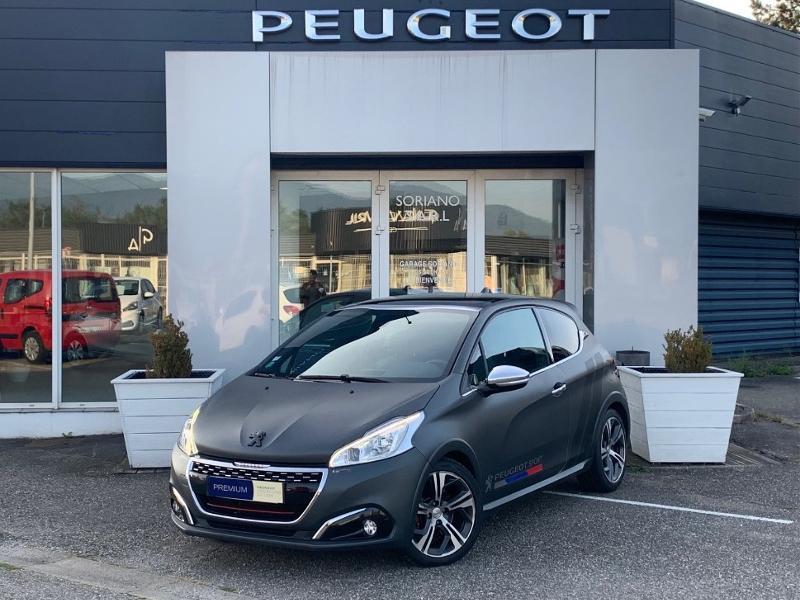 Peugeot 208 THP 208 GTi gps camera toit pano garantie 1 an Essence Gris Foncé Mat Occasion à vendre