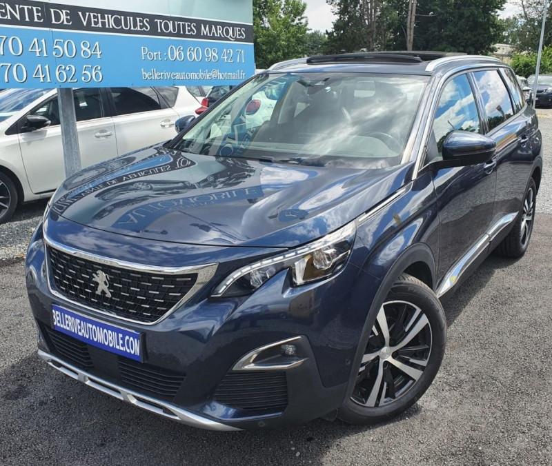 Peugeot 5008 2.0 BLUEHDI 180CH S&S ALLURE BUSINESS EAT8 Diesel BLEU F Occasion à vendre
