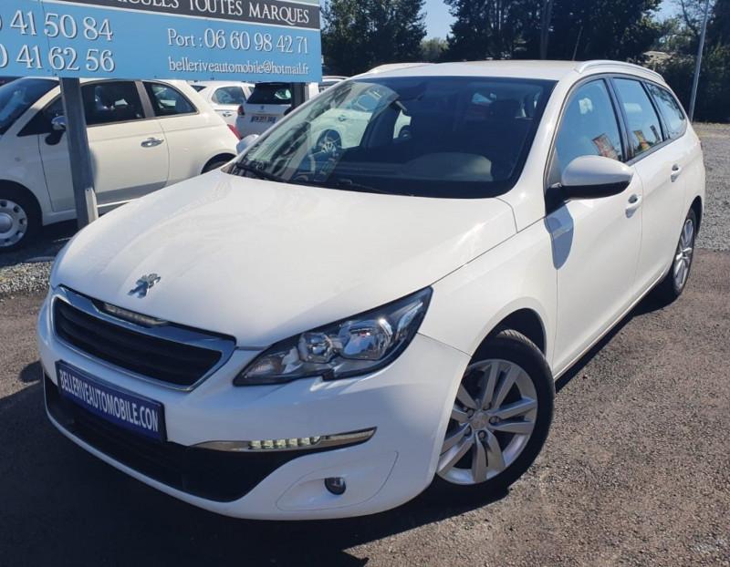 Peugeot 308 SW 1.6 BLUEHDI 120CH ACTIVE BUSINESS S&S EAT6 Diesel BLANC Occasion à vendre