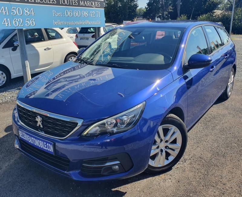 Peugeot 308 SW 1.5 BLUEHDI 130CH S&S ACTIVE BUSINESS Diesel BLEU F Occasion à vendre