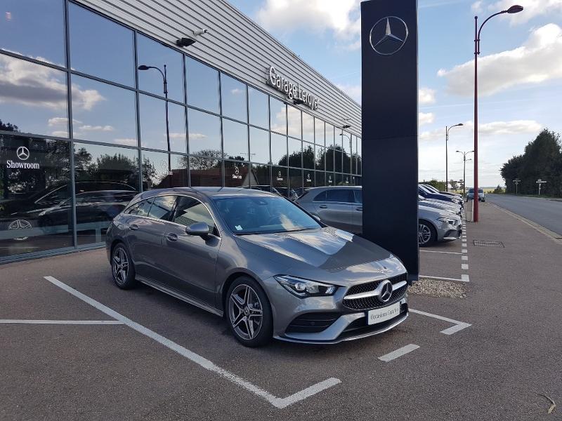 Mercedes-Benz CLA Shooting Brake 200 163ch AMG Line 7G-DCT 9cv Essence GRIS MONTAGNE Occasion à vendre