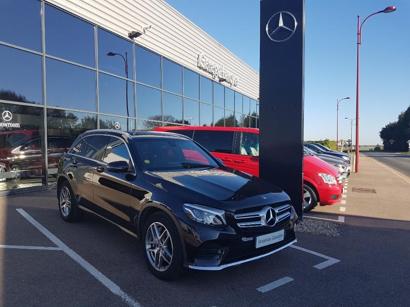 Mercedes-Benz GLC 220 d 170ch Sportline 4Matic 9G-Tronic Euro6c Diesel NOIR OBSIDIENNE Occasion à vendre