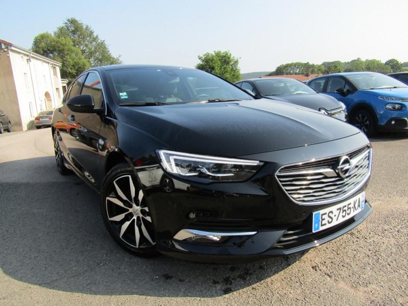 Opel INSIGNIA GRAND SPORT OPC-LINE 2L CDTI 170 CV GPS CAMÉRA FULL LED JA 18 BOSE USB PK HIVER BOITE AUTO- Diesel NOIR INTENS Occasion à vendre