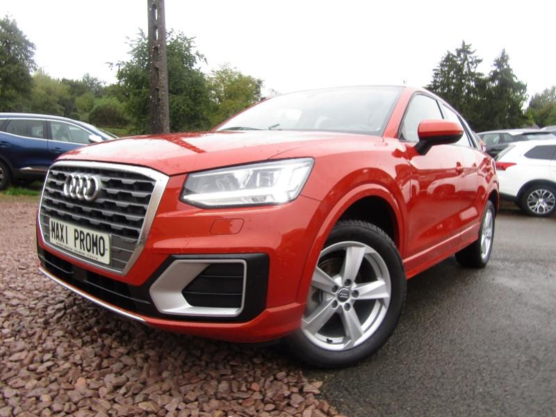 Audi Q2 1L6 TDI 116 CV 6 VITESSES GPS MÉDIA SIM SD USB RÉGULATEUR FULL LEDS TURBO DIESEL Diesel ORANGE SIDÉRAL Occasion à vendre