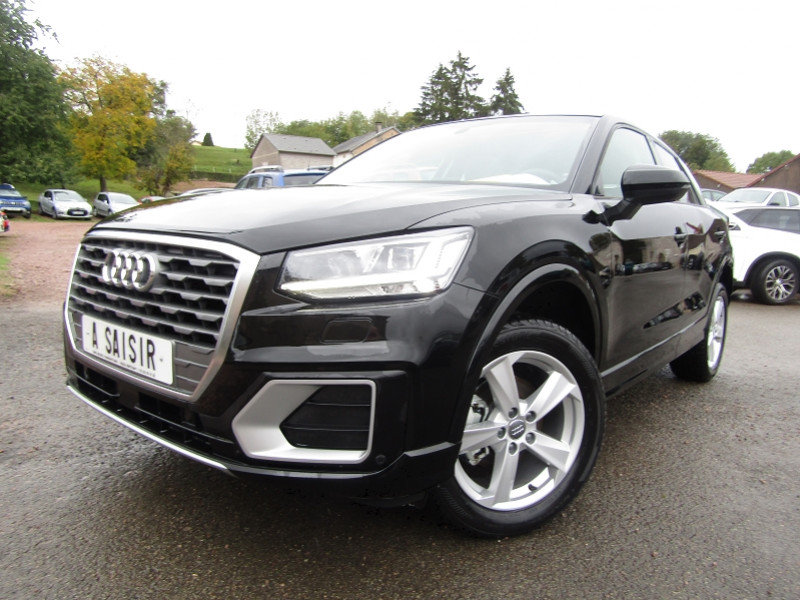 Audi Q2 30 TFSI 116 CV SPORT ESSENCE GPS FULL LED JA 17 USB RE TOIT OUVRANT COFFRE ELECT Essence NOIR MYTHIC Occasion à vendre