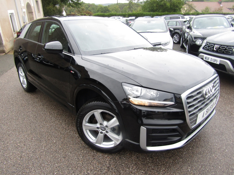 Audi Q2 1L6 TDI 116 CV SPORT S-LINE GRAND GPS MÉDIA TURBO DIESEL  6 VITESSES SD SIM USB Diesel NOIR DIAMANT Occasion à vendre