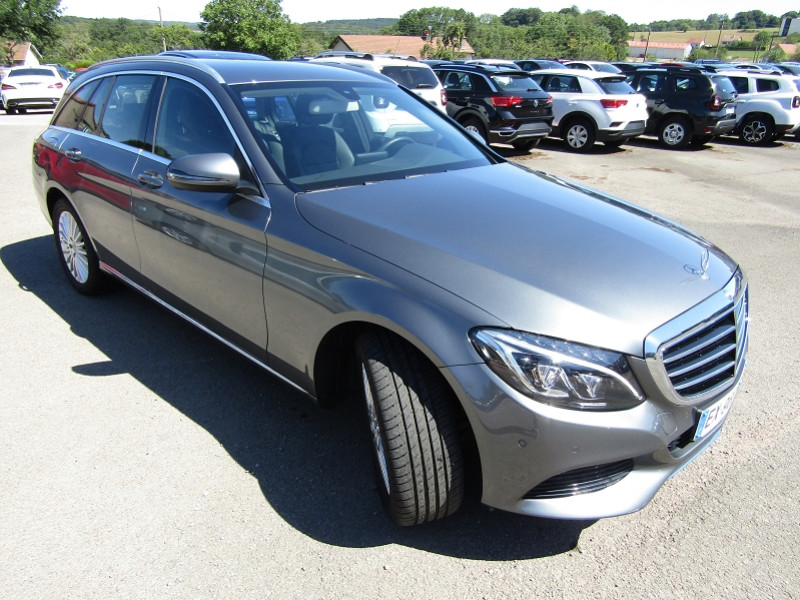 Mercedes-Benz CLASSE C BREAK (S205) 220 D BUSINESS EXECUTIVE 9G-TRONIC Diesel GRIS SELENITE Occasion à vendre