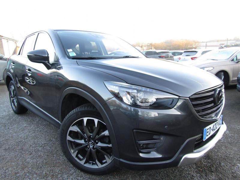 Mazda CX-5 2.2 SKYACTIV-D 175 SELECTION 4X4 BVA Diesel GRIS STELLAIRE Occasion à vendre
