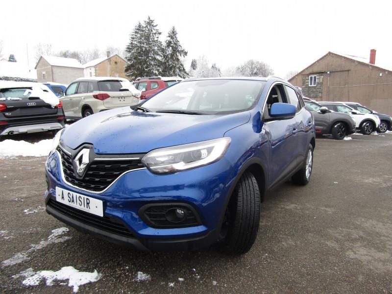 Renault KADJAR II 1L5 BLUEDCI 115 ZEN EDC.6  BOÎTE AUTO BLUETOOTH RÉGULATEUR GPS TACTILE MÉDIA USB Diesel BLEU IRON Occasion à vendre