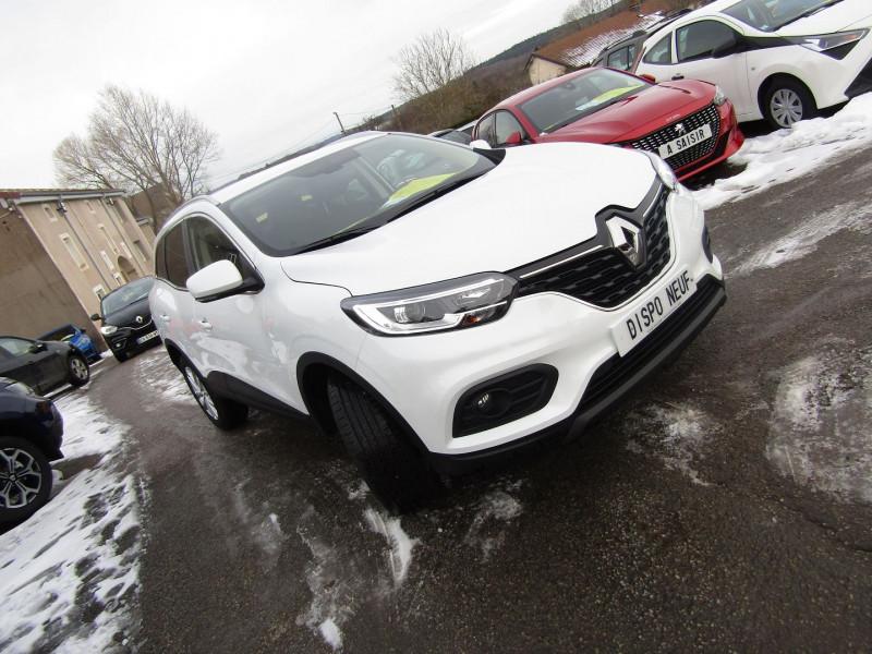 Renault KADJAR II 1L5 BLUEDCI 115 ZEN EDC.6  BOÎTE AUTO BLUETOOTH RÉGULATEUR GPS TACTILE MÉDIA USB Diesel BLANC NACRÉ Occasion à vendre