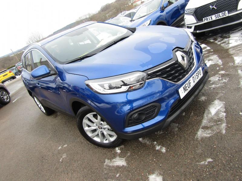 Renault KADJAR II 1L5 BLUEDCI 115 ZEN GPS USB BLUETOOTH RÉGULATEUR RADARS LEDS TURBO DIESEL  6V Diesel BLEU IRON Occasion à vendre