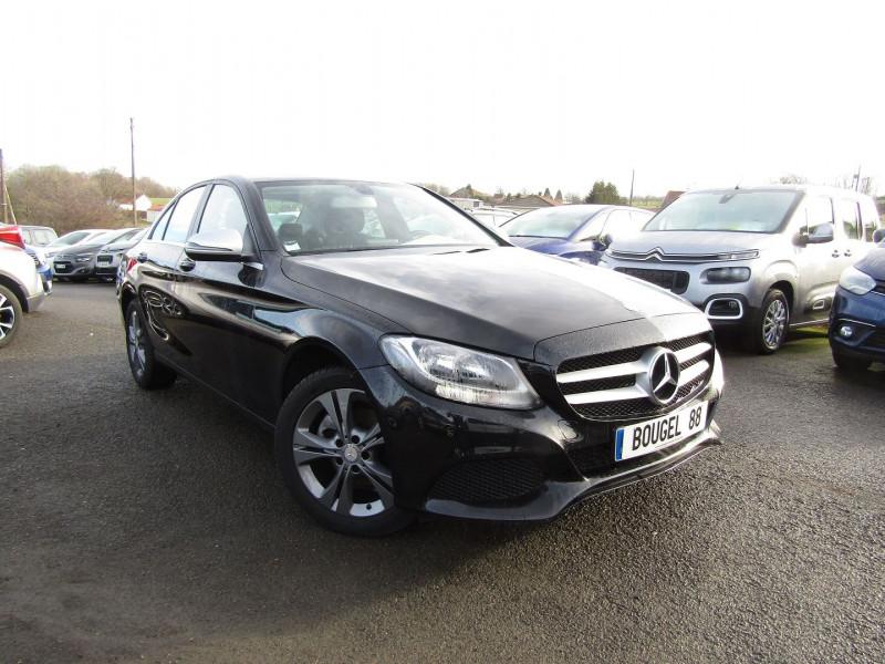 Mercedes-Benz CLASSE C (W205) ESSENCE 130 CV GPS CAMÉRA AUDIO MP3 USB RE JA 17 DIAMANTÉES BLUETOOTH RÉGULATEUR Essence NOIR DIAMANT Occasion à vendre