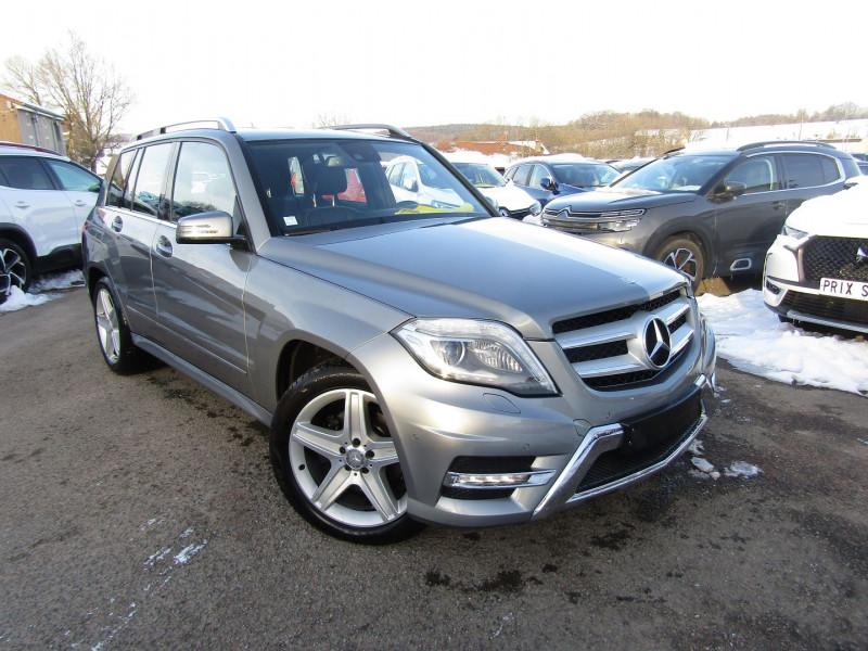 Mercedes-Benz GLK 220 CDI 4 MATIC 170 CV BOITE AUTO 7 +PALETTE CAMÉRA GPS USB CUIR TURBO DIESEL Diesel GRIS SATELLITE Occasion à vendre