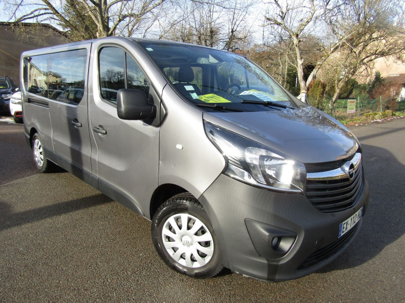 Opel VIVARO COMBI MINIBUS L2H1 CDTI 125 CV BITURBO GPS CLIM RADARS BOÎTE 6V ATTELAGE  9 PLAÇES Diesel GRIS CHATEAU Occasion à vendre