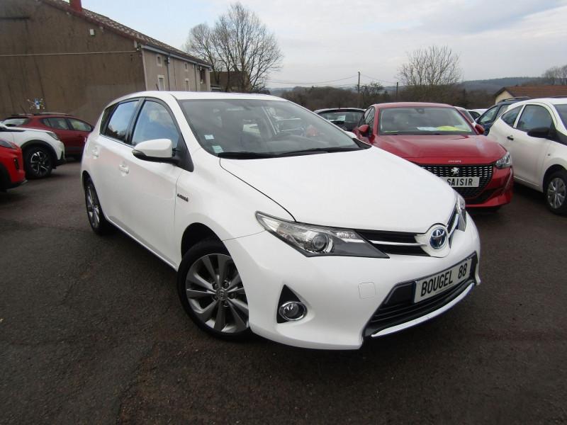 Toyota AURIS HYBRIDE 136 CV DYNAMIC ÉCRAN TACTILE CAMÉRA AUDIO MP3 USB BLUETOOTH RÉ Hybride BLANC LUNAIRE Occasion à vendre