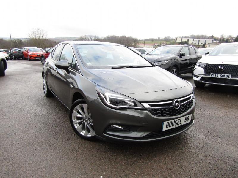Opel ASTRA 1.4 TURBO 150CH START&STOP ELITE AUTOMATIQUE Essence GRIS COSMIQUE Occasion à vendre