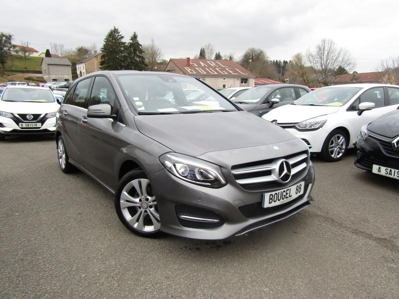 Mercedes-Benz CLASSE B 200 CDI SENSATION 136 CV GPS CAMÉRA FULL LED RE USB RÉGULATEUR BOITE AUTO 7G-DCT Diesel GRIS COSMOS Occasion à vendre