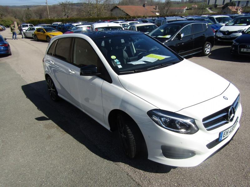 Mercedes-Benz CLASSE B SENSATION PLUS 110 CV CDI GPS CAMÉRA FULL LEDS USB RÉGULATEUR BOITE AUTO DCT-7 Diesel BLANC CRISTAL Occasion à vendre