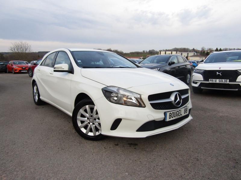 Mercedes-Benz CLASSE A (W176) 180 D INTUITION Diesel BLANC ALPIN Occasion à vendre