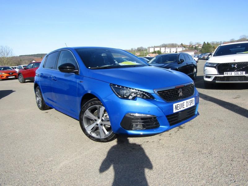 Peugeot 308 III GT BLUE HDI 130 CV  GPS CAMÉRA 180° FULL LEDS MP3 USB JA 17 BLUETOOTH RÉGULATEUR Diesel BLEU VERTIGO Occasion à vendre