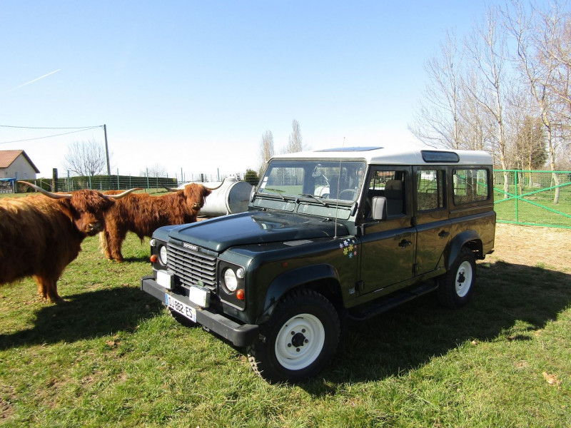 Land-Rover DEFENDER 110 WAGON TD.5 BICOLOR  9 PLAÇES Diesel VERT AMAZONE Occasion à vendre