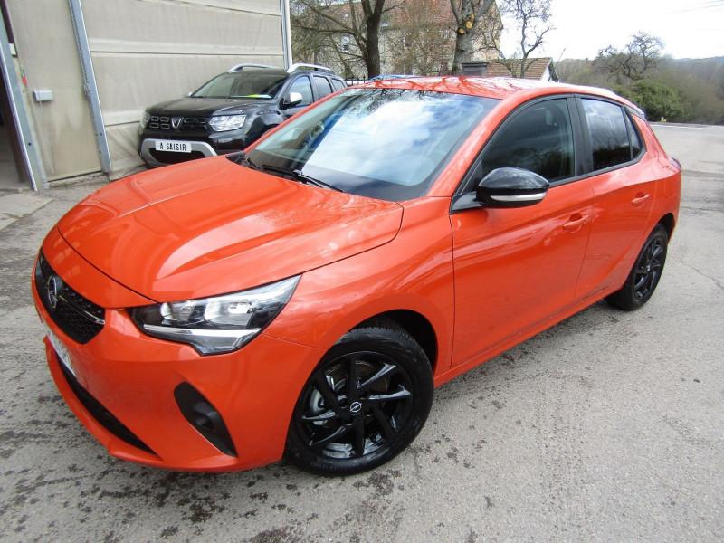 Opel CORSA 4 EDITION SPORT PURETECH 100 CV GPS CAMÉRA 180° USB JA 16 MP3 BLUETOOTH RÉGULATEUR Essence ORANGE FIZZ Occasion à vendre