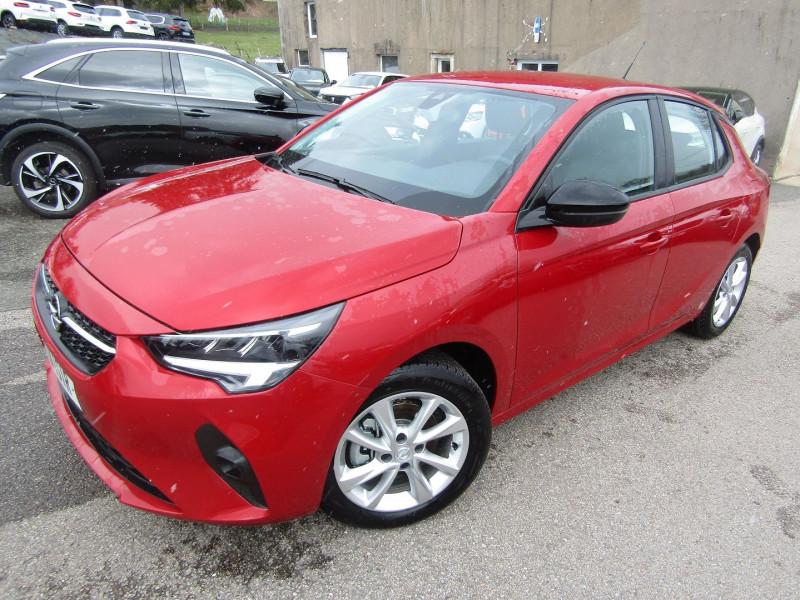 Opel CORSA 4 EDITION PREMIUM 100 CV PURETETCH GPS CAMÉRA 180° FULL LED JA 16 BOITE AUTO EAT-8 Essence ROUGE PIMENT Occasion à vendre