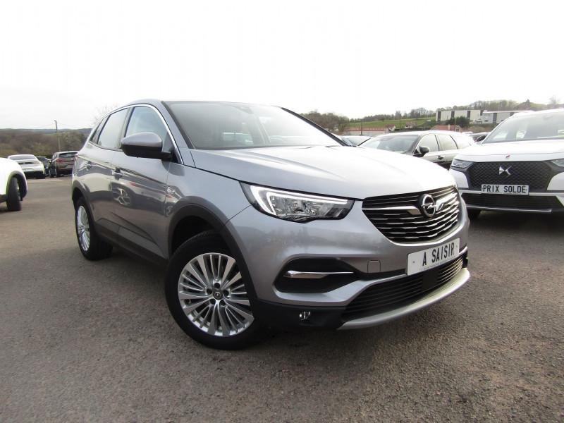 Opel GRANDLAND X INNOVATION BLUE HDI 130 CV GPS CAMÉRA FULL LED JA 18 USB COFFRE ELECT RÉGULATEUR Diesel GRIS QUARTZ Occasion à vendre