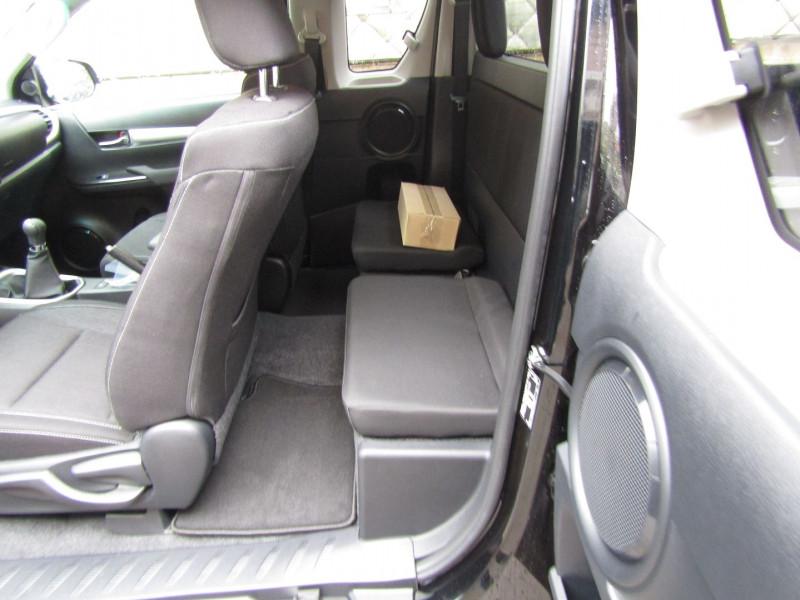 Photo 9 de l'offre de TOYOTA HILUX 2L4 D-4D 150 CV EXTRA CAB CONFORT GPS CAMÉRA FULL LED USB JA 18 RÉGULATEUR TVA à 34900€ chez Bougel transactions
