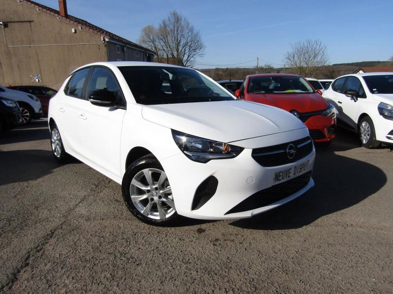 Opel CORSA 4 1L5 CDTI 100 CV EDITION PLUS GPS 3D TACTILE USB JA 16 RADAR BLUETOOTH RÉGULATEUR Diesel BLANC GLACIER Occasion à vendre