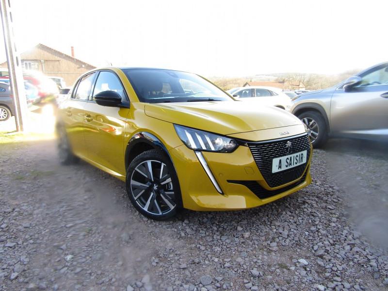 Peugeot 208 III BLUE HDI 100 CV GT-LINE GPS 3D CAMÉRA FULL LED TOIT PANO JA 17 RE USB RÉGULATEUR Diesel JAUNE FARO Occasion à vendre