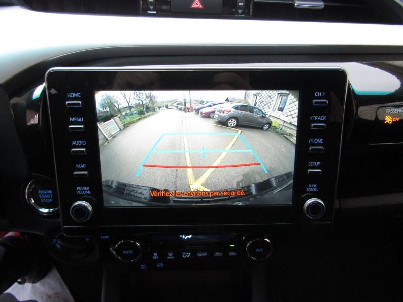 Photo 11 de l'offre de TOYOTA HILUX 2L4 D-4D 150 CV EXTRA CAB CONFORT GPS CAMÉRA FULL LED USB JA 18 RÉGULATEUR TVA à 34900€ chez Bougel transactions