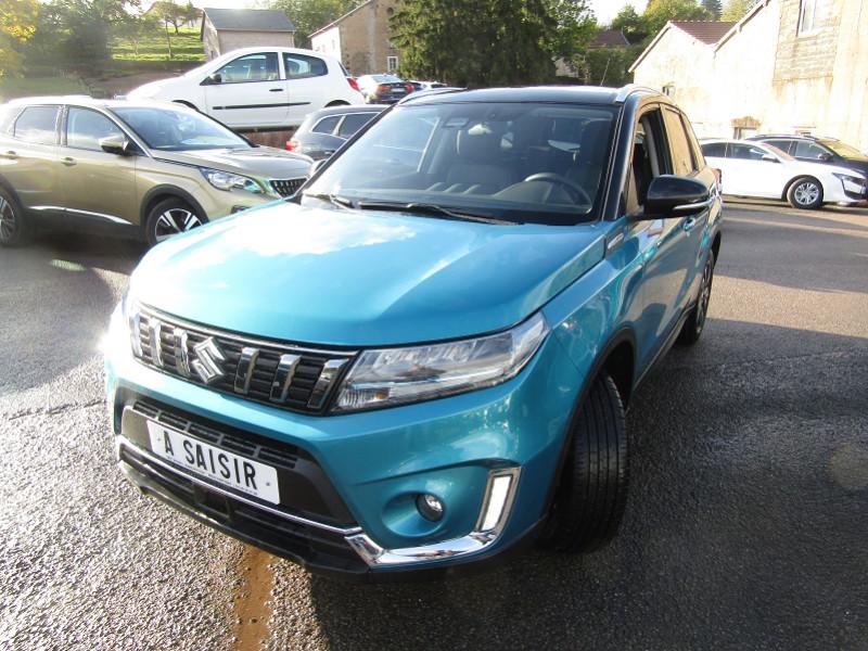 Suzuki VITARA 4 HYBRIDE STYLE 1L4 BOOSTERJET 129 CV GPS CAMÉRA FULL LED JA 17 MP3 USB RÉGULATEUR Hybride BLEU / TOIT NOIR Occasion à vendre
