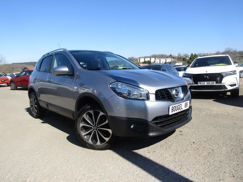 Nissan QASHQAI  II 1L6 DCI 130 CV N-CONNECT CAMÉRA 360 GPS MÉDIA TOIT PANO 4X4 TURBO DIESEL BOITE 6 Diesel GRIS SQUALE Occasion à vendre