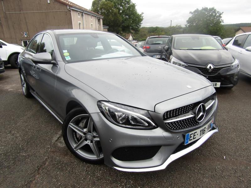 Mercedes-Benz CLASSE C (W205) 200 D 2.2 FASCINATION 7G-TRONIC PLUS Diesel GRIS SELENITE Occasion à vendre