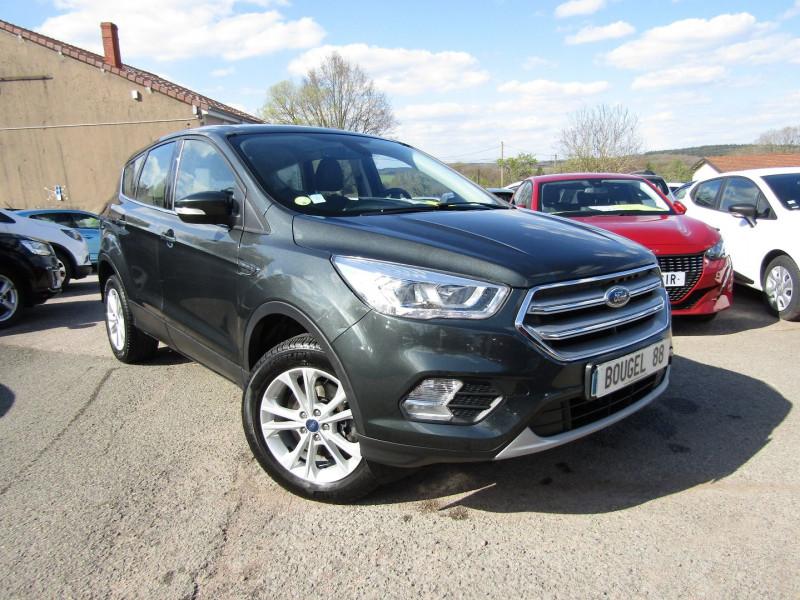 Ford KUGA II 1L5 TDCI 120 CV GPS TITANIUM CLIM BI-ZONES MI CUIR RÉGULATEUR BLUETOOTH BOÎTE 6V Diesel GRIS ANTHRACITE Occasion à vendre