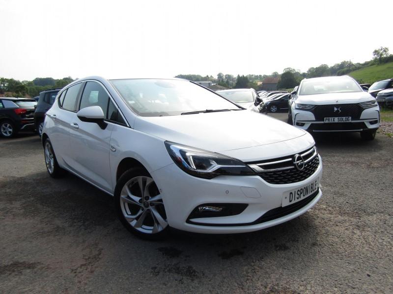 Opel ASTRA 1.6 CDTI BITURBO 160CH START&STOP Diesel BLANC CRISTAL Occasion à vendre